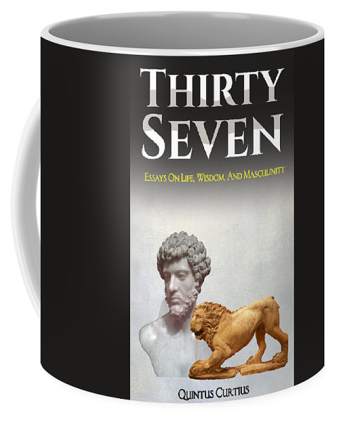 Thirty-seven Coffee Mug featuring the digital art Thirty Seven by Quintus Curtius