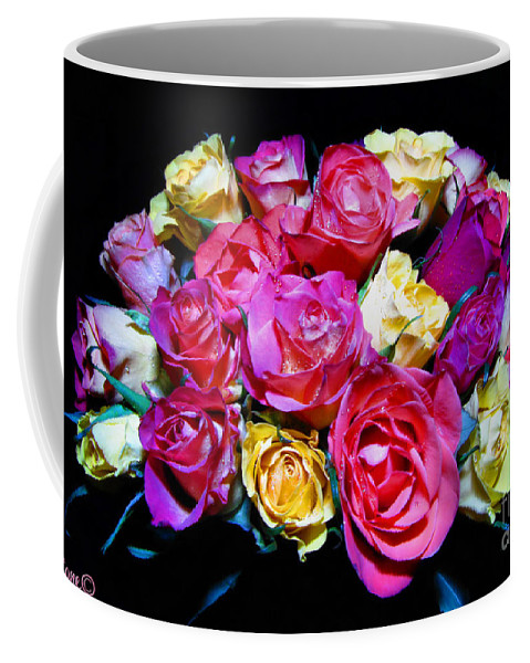 Roses Coffee Mug featuring the photograph Thirty Six 2 by September Stone