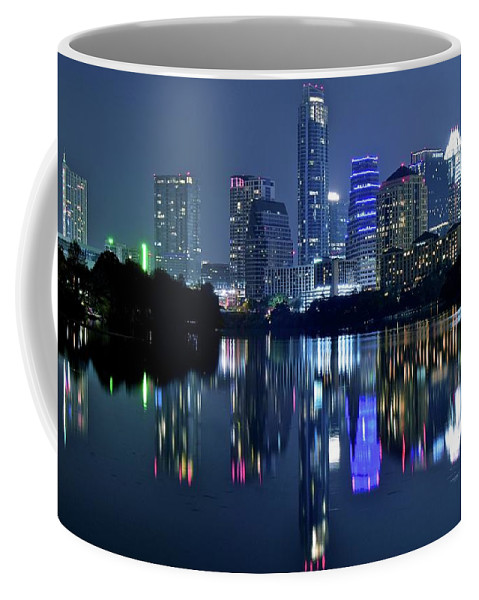 Austin Coffee Mug featuring the photograph This Is Austin by Frozen in Time Fine Art Photography