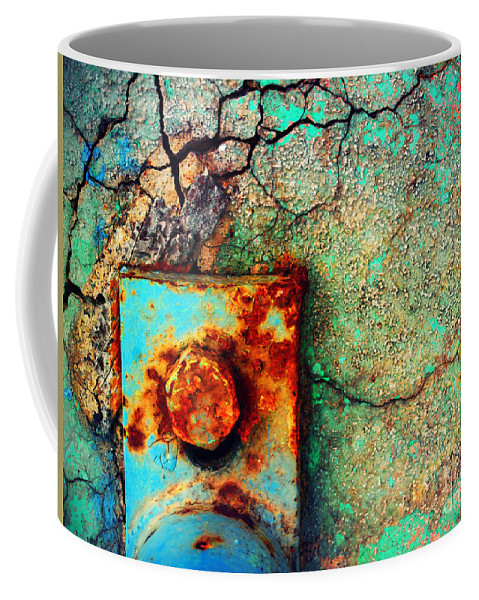 Urban Coffee Mug featuring the photograph This Is How We Hold It Together by Tara Turner