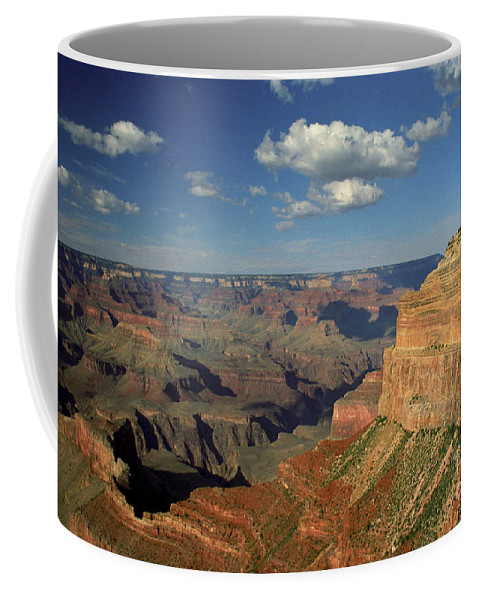 Grand Canyon Coffee Mug featuring the photograph This Is My Father's World by Kathy McClure
