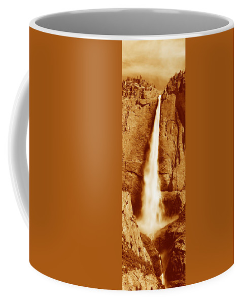 Photography Coffee Mug featuring the photograph This Is Upper Yosemite Falls by Panoramic Images