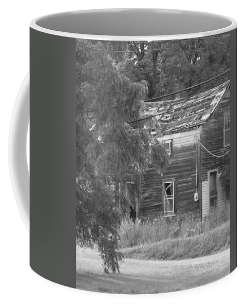 House Coffee Mug featuring the photograph This Old House by Rhonda Barrett