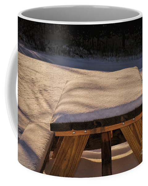 Winter Coffee Mug featuring the photograph This Section Closed by William Tasker