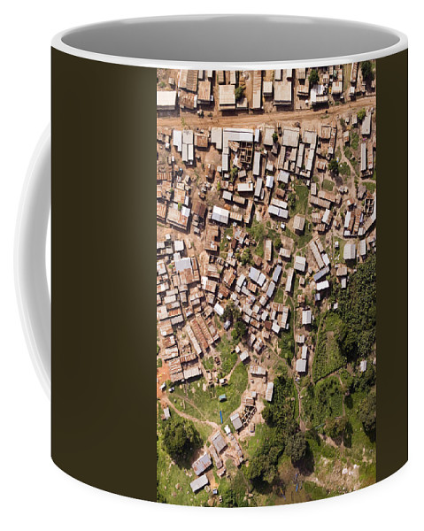 Landscape Coffee Mug featuring the photograph This Small But Dense Town Is Located by Michael Fay