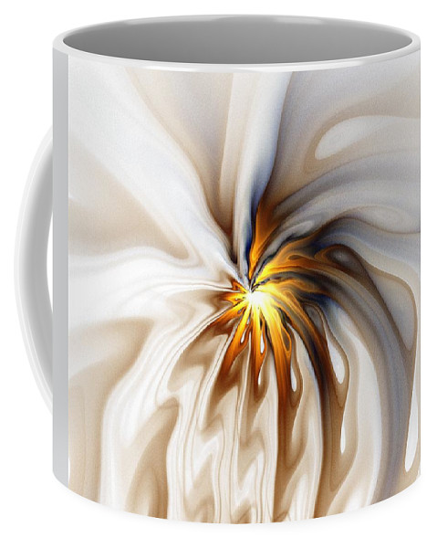 Digital Art Coffee Mug featuring the digital art This Too Will Pass... by Amanda Moore