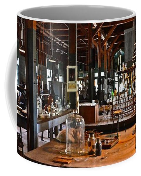 Thomas A. Edison Coffee Mug featuring the photograph Thomas Edison Lab, #3 by Ron Long