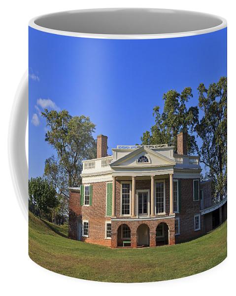 Poplar Coffee Mug featuring the photograph Thomas Jefferson's Poplar Forest by Jill Lang