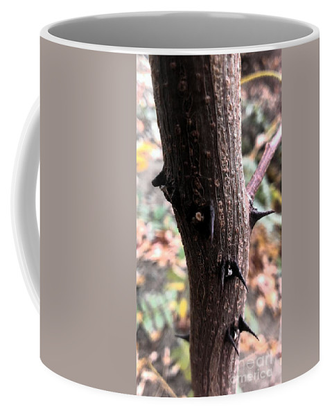 Thorns Coffee Mug featuring the photograph Thorns by LKB Art and Photography