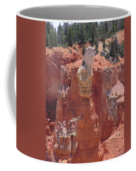Bryce Coffee Mug featuring the photograph Thor's Hammer by Louise Magno