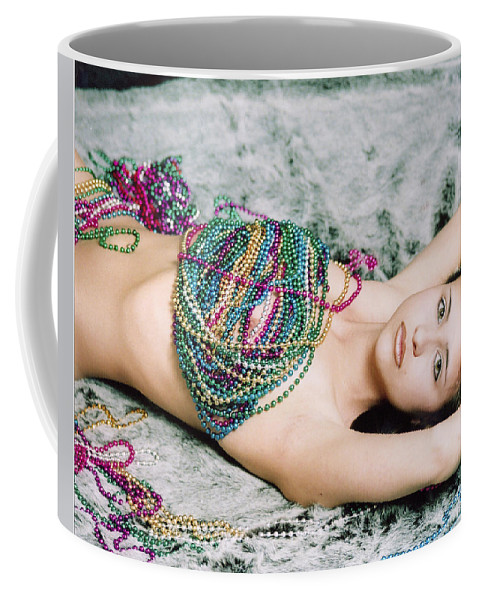 Female Artistic Nude Coffee Mug featuring the photograph Those Eyes by Tom Hufford