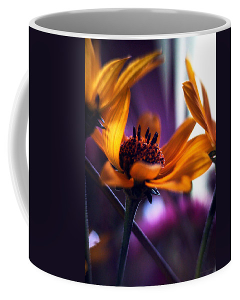 Flowers Coffee Mug featuring the photograph Thoughts Are Things... by Arthur Miller
