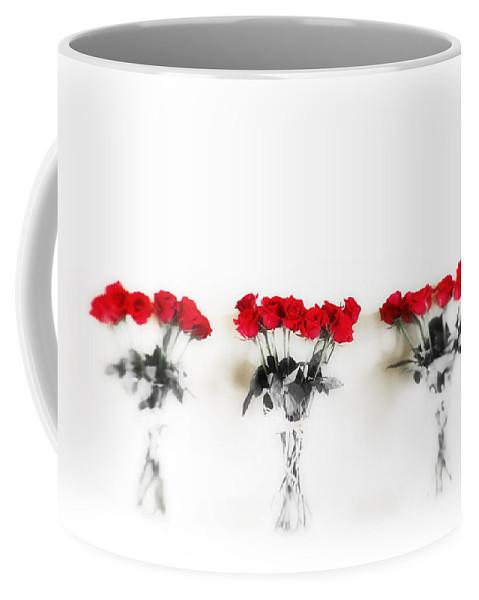 Roses Coffee Mug featuring the photograph Three Dozen Roses by Scott Pellegrin