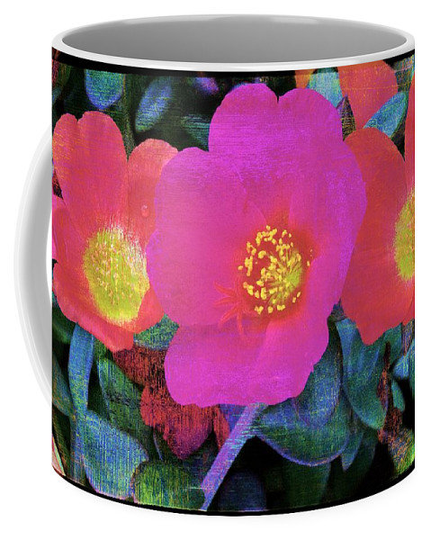 Alicegipsonphotographs Coffee Mug featuring the photograph Three Lovely Flowers by Alice Gipson