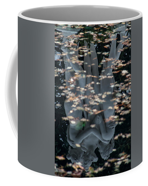 Statue Coffee Mug featuring the photograph Three Sisters by Guy Shultz
