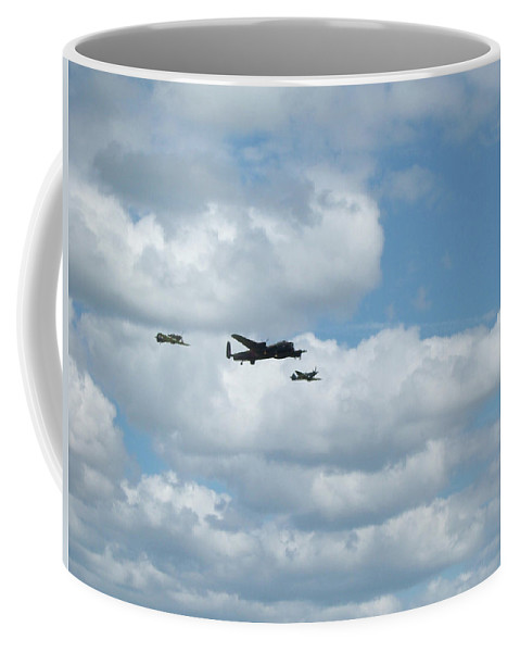 Hurricane Coffee Mug featuring the photograph Three Wonders by Fred West