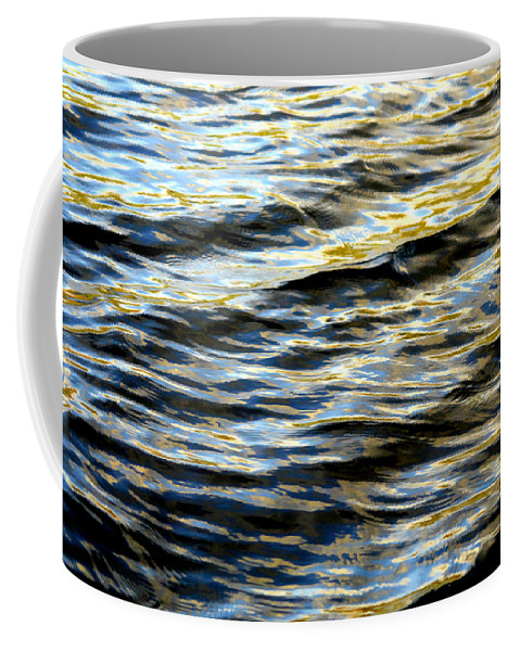 Water Coffee Mug featuring the photograph Through Darkness Came Light by Donna Blackhall