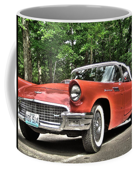 Thunderbird Coffee Mug featuring the photograph Thunderbird by Jane Linders