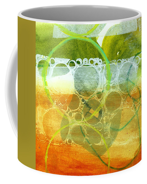 4x4 Coffee Mug featuring the painting Tidal 13 by Jane Davies
