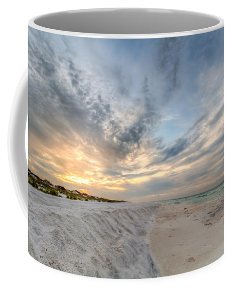 Clouds Coffee Mug featuring the photograph Tidal Edge by Gary Oliver