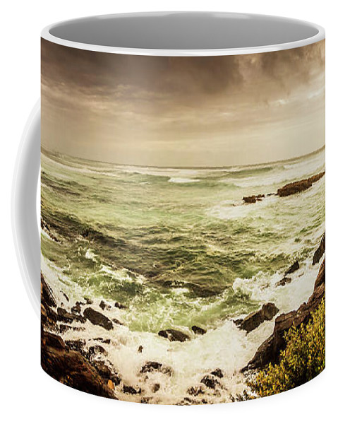Wide Coffee Mug featuring the photograph Tidal Vastness by Jorgo Photography - Wall Art Gallery