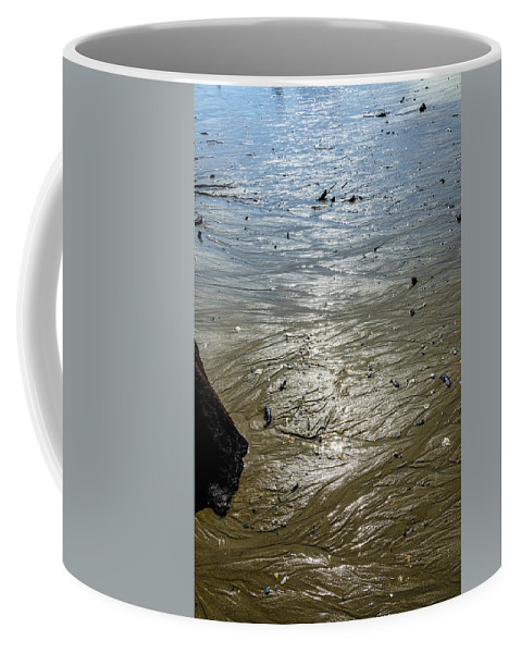 Tide Coffee Mug featuring the photograph Tides Out After The Storm by Greg Reed