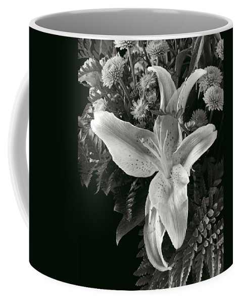 Flower Coffee Mug featuring the photograph Tiger Lily Orchid 2 by David Thompson