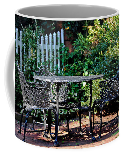 Scenic Tours Coffee Mug featuring the photograph Time For Tea by Skip Willits