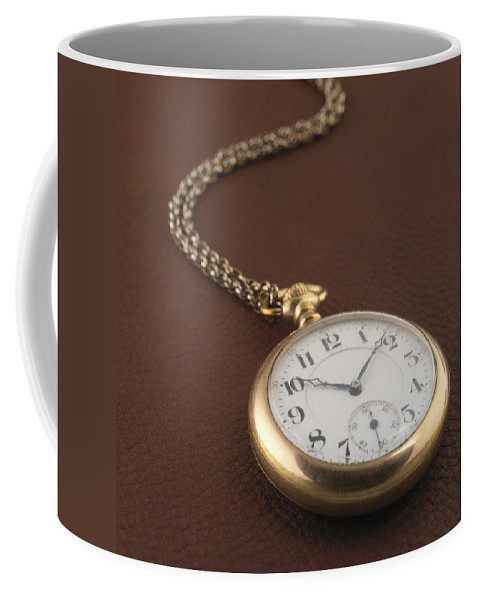 Pocket Watch Coffee Mug featuring the photograph Time by Jerry McElroy