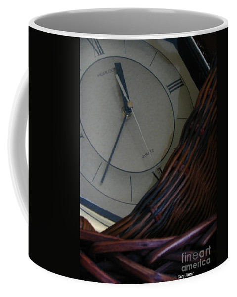 Patzer Coffee Mug featuring the photograph Time Standing Still by Greg Patzer