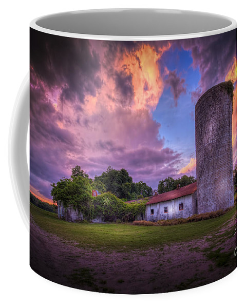Barns Coffee Mug featuring the photograph Time Tested by Marvin Spates