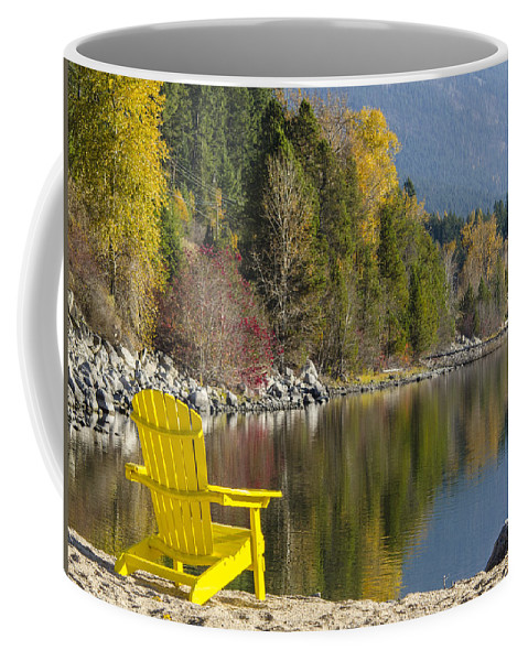 Fall Coffee Mug featuring the photograph Time Well Wasted II by Joy McAdams