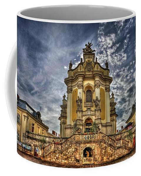 Cathedral Coffee Mug featuring the photograph Timeless Beauty by Evelina Kremsdorf