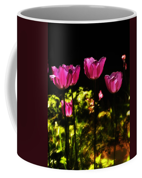 Tulips Coffee Mug featuring the photograph Tiptoe Through The Tulips by Bill Cannon
