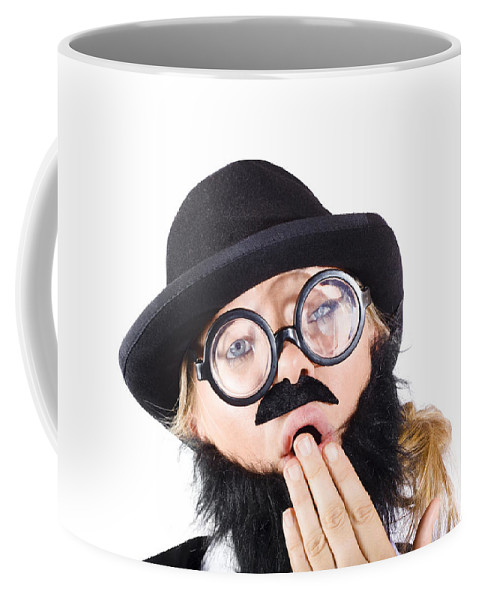 Tired Coffee Mug featuring the photograph Tired Businessperson by Jorgo Photography - Wall Art Gallery