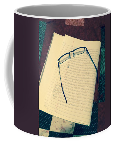 Photograph Coffee Mug featuring the photograph Tired Eyes by Jennifer Thomas
