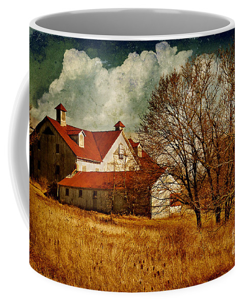 Barns Coffee Mug featuring the photograph Tired by Lois Bryan