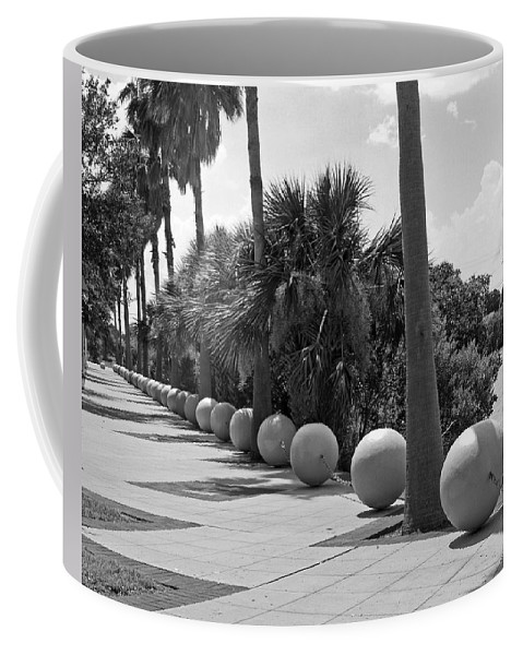 Florida; Titusville; Space; Coast; Astronauts; Astronaut; Cape; Canaveral; Mercury; Project; Freedom Coffee Mug featuring the photograph Titusville On The Indian River Lagoon In Florida by Allan Hughes