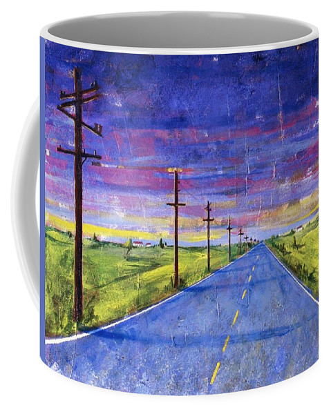 Road Coffee Mug featuring the painting To Be With You by Rollin Kocsis