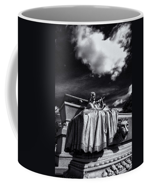 Cemetery Coffee Mug featuring the photograph To The Heavens by Scott Wyatt