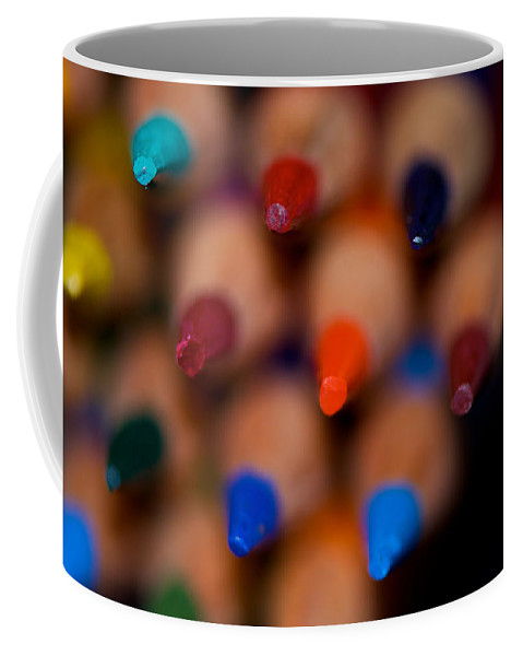 Pencil Coffee Mug featuring the photograph To The Point by Lisa Knechtel