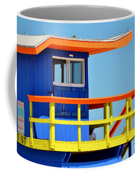 Miami Beach Coffee Mug featuring the photograph To The Rescue 2 by Rene Triay Photography