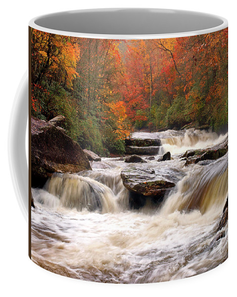 River Coffee Mug featuring the photograph To The Sea by J K York