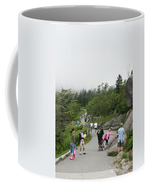 2016 Coffee Mug featuring the photograph To The Top by Larry Braun