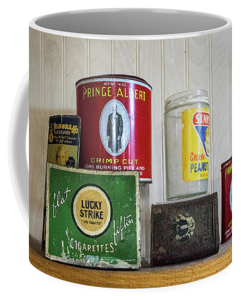 Tobacco Coffee Mug featuring the photograph Tobacco Coffee and Peanut Butter by Douglas Barnett