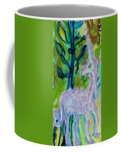 Unicorn Coffee Mug featuring the photograph Today I Choose To Be A Unicorn by Modern Art
