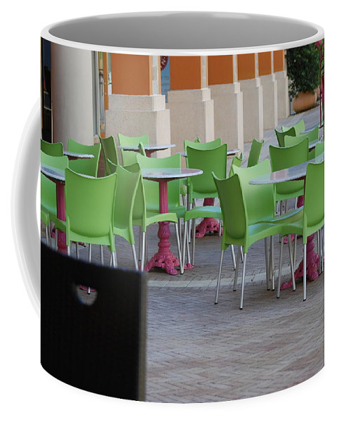 Chairs Coffee Mug featuring the photograph Token Chair by Rob Hans