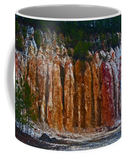 Land Coffee Mug featuring the photograph Tombs Land Formation by George D Gordon III