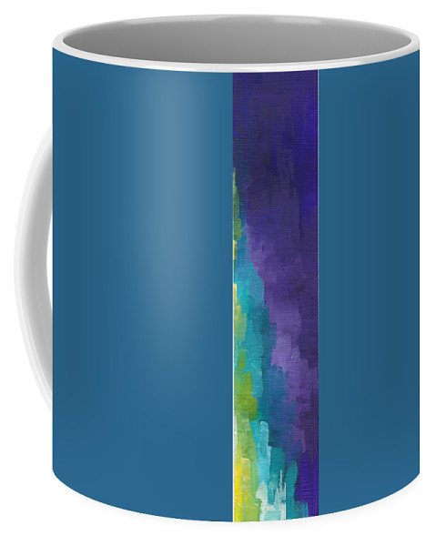 Purple Coffee Mug featuring the painting Tomorrow Is Another Day by Chelsie Ring