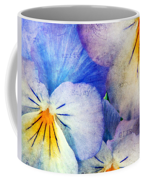 Agriculture Coffee Mug featuring the photograph Tones of Blue by Darren Fisher